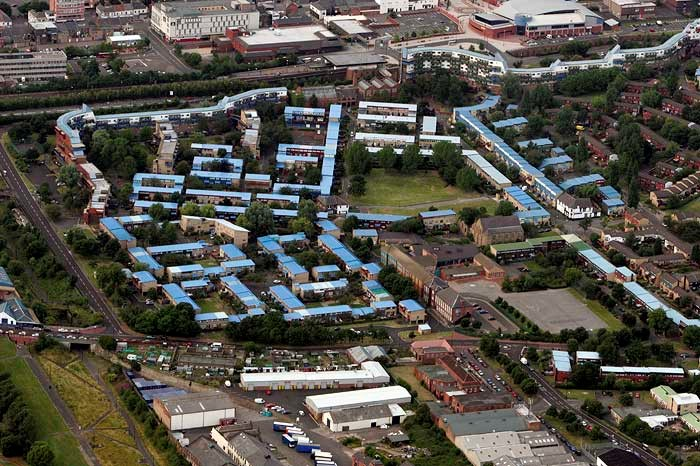 Council Housing, Byker, Newcastle upon Tyne, Tyne and Wear