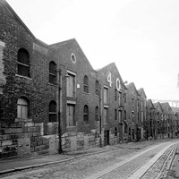 Bonded warehouses, Hanover Street, Newcastle upon Tyne, Tyne and Wear