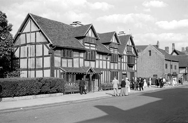 Shakespeares Birthplace Henley Street Stratford Upon Avon Warwickshire