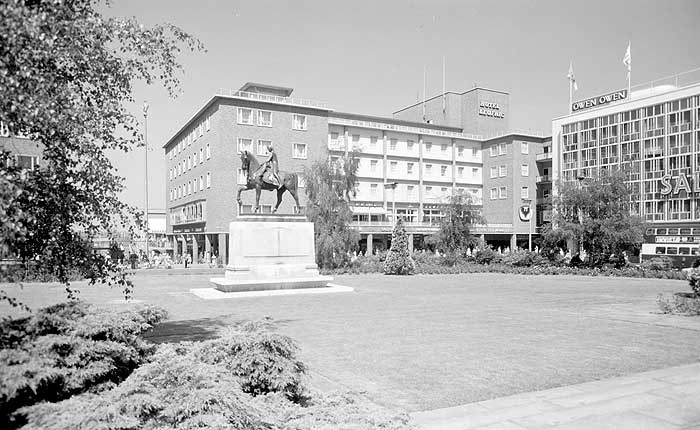 Lady Godiva Statue, Broadgate, Coventry, West Midlands