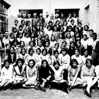 Employees at the Gwenda Works, Legge Lane, Birmingham