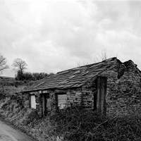 Abandoned miner's cottage, Sowood Lane, Whitley Lower, West Yorkshire