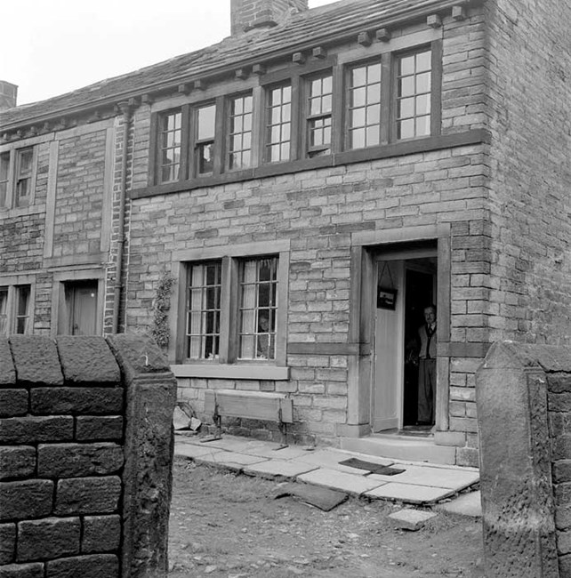 A weaver's cottage, Golcar, Huddersfield, West Yorkshire