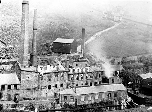 Underbank Dye Works, Stansfield, Blackshaw, West Yorkshire