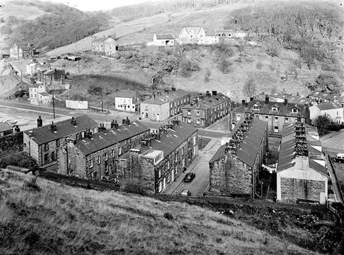 Workers' housing, Robinwood Mill, Todmorden, West Yorkshire