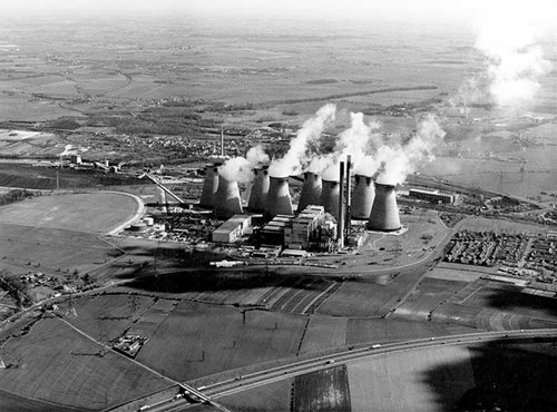 Ferrybridge 'C' Power Station, West Yorkshire