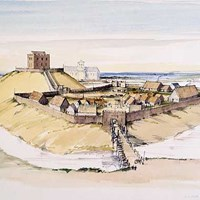 11th century Clifford's Tower (York Castle), York, York