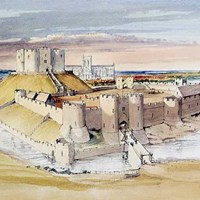 13th century Clifford's Tower (York Castle), York, York