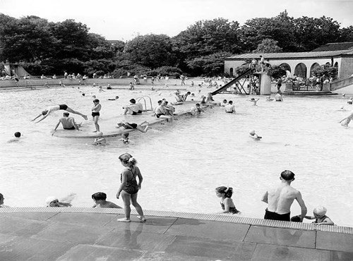 Northstead Lido, Scarborough, North Yorkshire