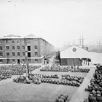 London Docks, Number One Warehouse, Wapping, Stepney, London