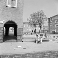 Council Housing, Holloway Estate, Holloway, Greater London
