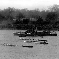 Boat Race, River Thames, London