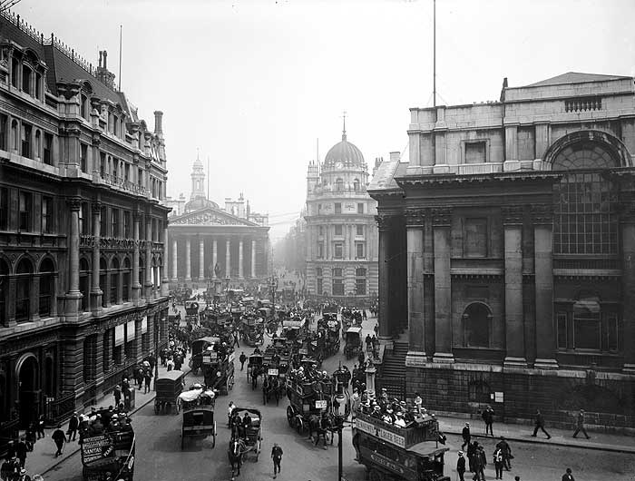 Mansion House and Royal Exchange, City of London