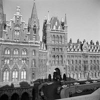 St Pancras Station,  Euston Road, Camden Town, Greater London