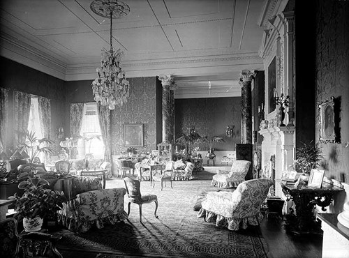Drawing Room at Foots Cray Place, Bexley, London