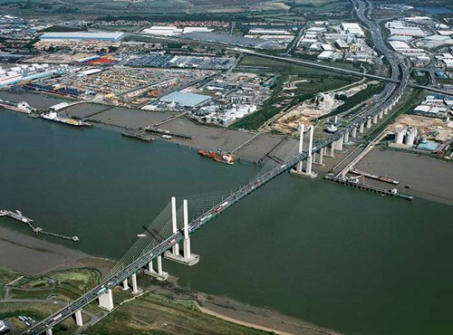 Queen Elizabeth II Bridge, Dartford, Kent