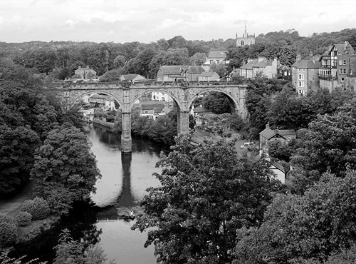 Railway viaduct, Knaresborough, North Yorkshire