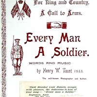 Title page for Every man a soldier