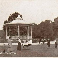 Bandstand, Vivary Park, Taunton, Somerset