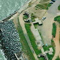 Coastal battery near Bawdsey, Suffolk