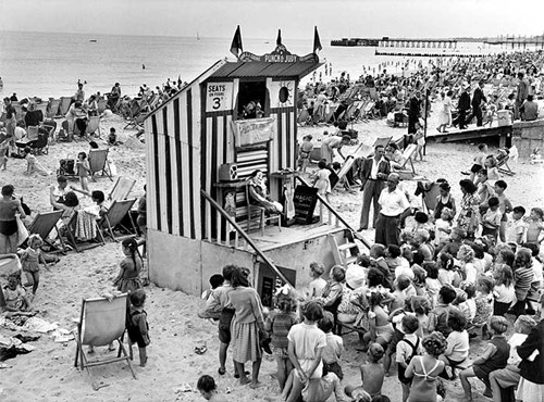 Punch and Judy show, Lowestoft, Suffolk