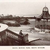 Bandstand, Marine Park, South Shields, Tyne and Wear