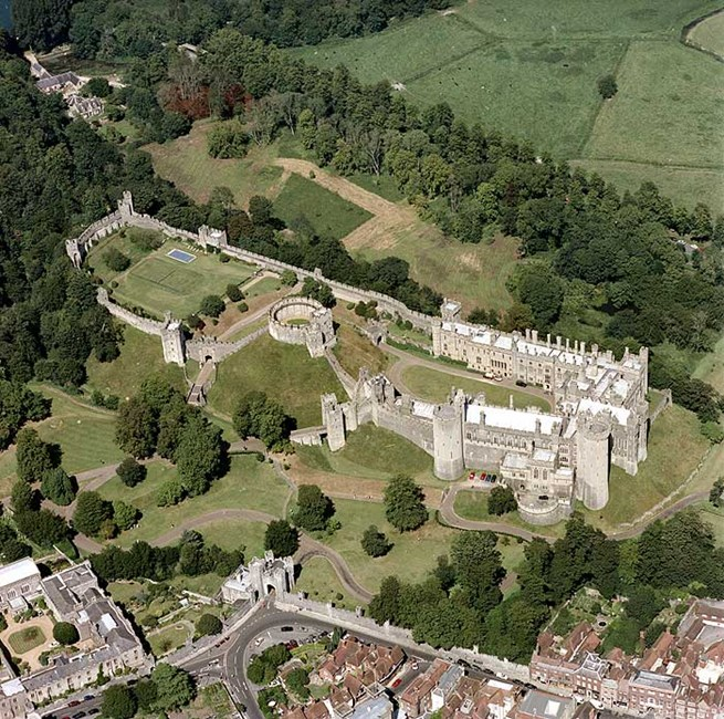 Arundel Castle, Arun, West Sussex
