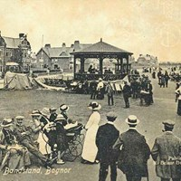 East Parade Bandstand, East Parade, Bognor Regis, West Sussex