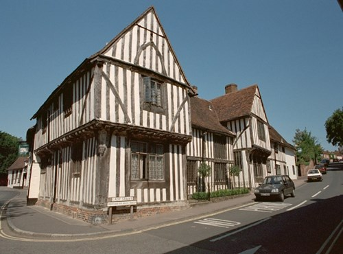 Old Wool Hall, Lavenham, Suffolk