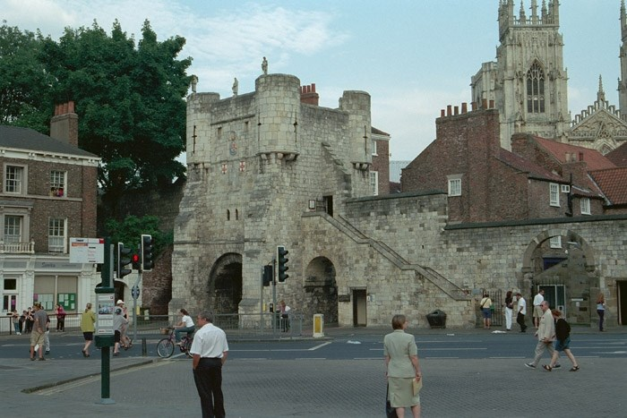 York City Walls and Bootham Bar, York, York