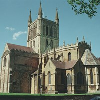 Abbey Church of Holy Cross with St Edburgha, Pershore, Worcestershire