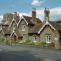 Caleb Lovejoy Almshouses, Guildford, Surrey