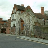 Castle Arch and Walls, Guildford, Surrey