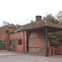 Bottle Kiln at Farnham Pottery, Farnham, Surrey