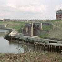 Coal Staithe at Wearmouth Colliery, Sunderland, Tyne and Wear