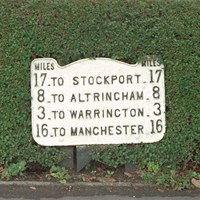 Milepost, Thelwall, Warrington