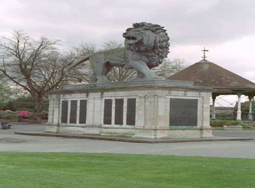 Maiwand War Memorial, Forbury Gardens, Reading