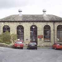 Engine House at Nortonthorpe Mills , Denby Dale, West Yorkshire