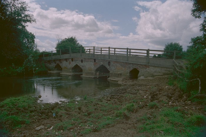 Bridge over the River Great Ouse, Leckhampstead, Buckinghamshire
