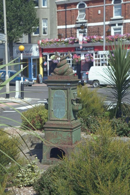 Drinking fountain, Langley Road, Eastbourne, East Sussex