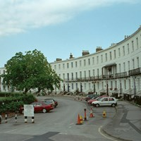 Royal Crescent, Cheltenham, Gloucestershire