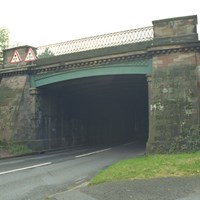 Denbigh Hall Railway Bridge, Watling Street, Bletchley, Milton Keynes