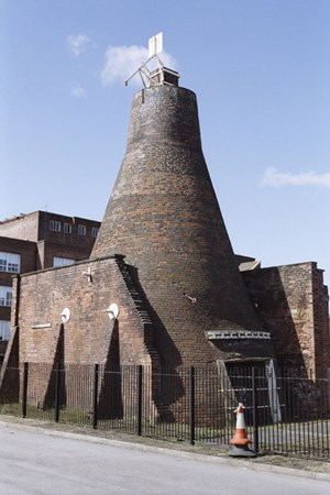 Cementation Furnace Sheffield South Yorkshire Educational Images
