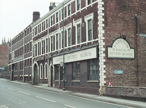 Former Gladstone and Park Place (Roslyn) Works, Longton, Stoke on Trent