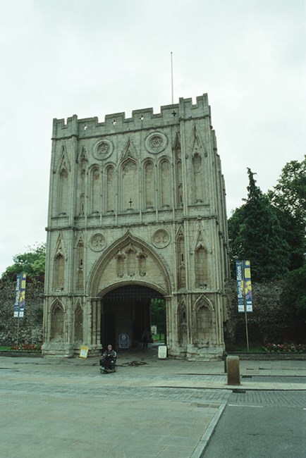 Abbey Gatehouse, Abbey Precincts, Bury St Edmunds, Suffolk