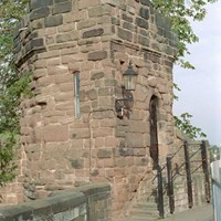 Bonewaldesthorne Tower on the City Walls, Chester, Cheshire