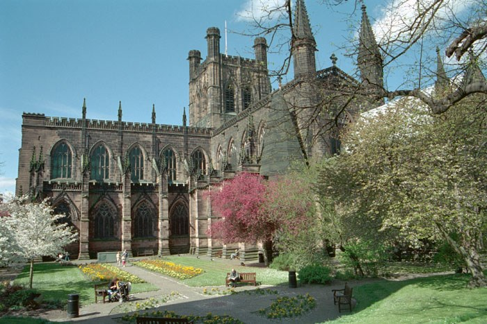 Cathedral Church of Christ and the Blessed Virgin Mary, Chester, Cheshire