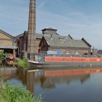 Boiler and pump houses and hydraulic accumulator Tower, Ellesmere Port, Cheshire