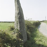 Boundary Stone, Sithney, Cornwall