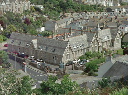 St Ives Junior School, The Stennack, St Ives, Cornwall